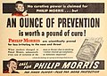 Philipp Morris are scientifically proved, 1945.jpg