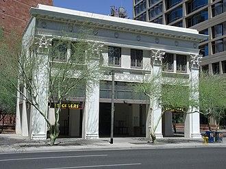 Phoenix Historic Property Register - Front view of the J.W. Walker Building  (built 1920)