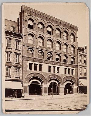 George A. Schastey - Image: Photograph of George A. Schastey & Co., 1681 1683 Broadway MET DP350972