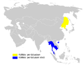 Phylloscopus tenellipes distribution map.png