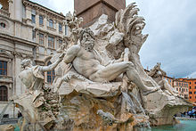 Piazza Navona is a city square in Rome