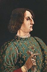 Portrait de Galeazzo Maria Sforza