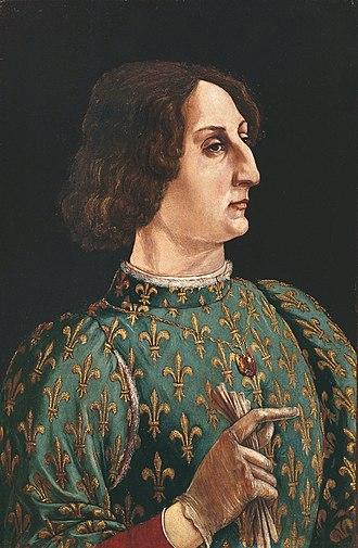 Galeazzo Maria Sforza - Galeazzo Maria Sforza, by Piero Benci, Uffizi Gallery