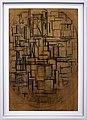 Piet mondrian, impalcatura, studio per tableau III, 1914, 02.jpg