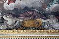 Pietro da cortona, Trionfo della Divina Provvidenza, 1632-39, Pace in trono, fucina di vulcano e tempio di giano 09.JPG