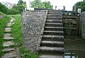 Pigeon Lock (closeup) - geograph.org.uk - 1416270.jpg