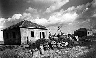 Beit Yitzhak-Sha'ar Hefer - Moshav Beit Yitzhak in 1940