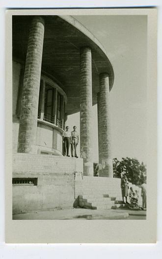 Habima Theatre - Historic building, c.1950