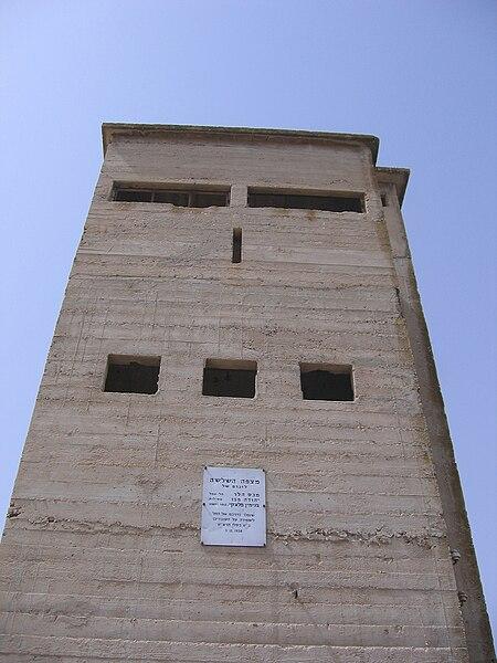 מגדל שמירה בתל-שוכה