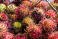 Pile of rambutan at potluck, 2015-04-12.jpg