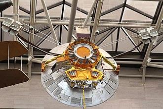 Pioneer H - Pioneer H as it hangs in the National Air and Space Museum