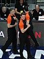 Piotr Pastusiak, Sreten Radovic & David Romano (referee) Fenerbahçe vs Baloncesto Málaga EuroLeague 20180405 (2).jpg