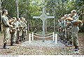 Pipers lament at the dedication of the Long Tan Cross in 1969.jpg