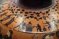 Pittore del louvre E739, hydria ricci, etruria (artigiani da focea), dalla banditaccia, 530 ac. ca., preparazione di sacrificio 06 cottura carni.jpg