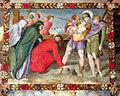 Pittore tosco-emiliano, misteri del rosario, 1550-1600 circa 10 via crucis.JPG
