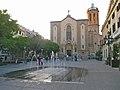 Plaça de l'ajuntament de Sabadell amb l'església de Sant Fèlix al fons - panoramio.jpg