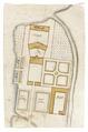 Plan över gårdsanläggning, Salsta, 1650 - Skoklosters slott - 99000.tif