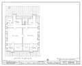 Plan of the Second Floor of the Felix Vallee House in Ste Genevieve MO.png