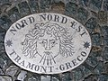 Plaque on Saint Peter's Square- Nord Nord Est.jpg