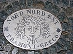 Plaque on Saint Peter's Square- Nord Nord Est.jpg