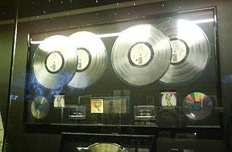 Voodoo Lounge - Multi platinum award