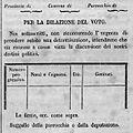 Plebiscito Lombardia 1848 - Elenco per rinvio della votazione.jpg