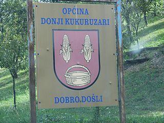 Donji Kukuruzari Municipality in Continental Croatia, Croatia