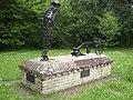 Ploughman statue, Stibbard village green - geograph.org.uk - 459510.jpg