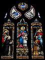 Pluguffan (29) Église Saint-Cuffan Vitrail 01.JPG