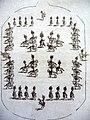 Plumeau auf Reiterhelmen beim Pferdebalett.jpg