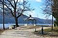 Poertschach Halbinsel Landspitz Pavillon mit Eiche 25012014 620.jpg