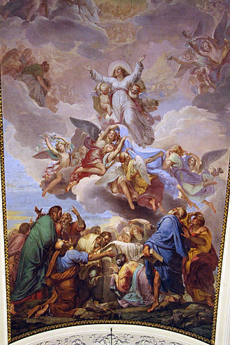 Francesco Nenci - Assumption of the Virgin (1823), Florence