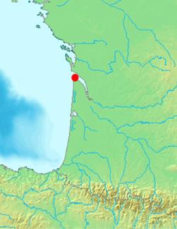 Lage der Gironde