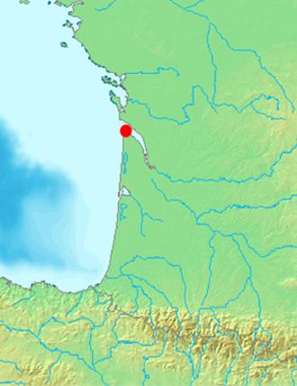 Gironde estuary - Image: Pointede Grave Situation