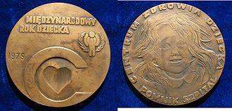 Children's Memorial Health Institute - Poland, 1979 Medal International Year of the Child