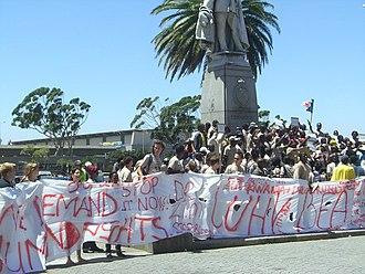PASSOP - Image: Police protest 2