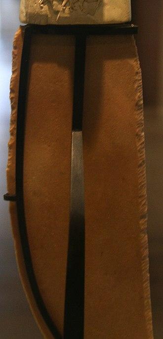 Gebel el-Arak Knife - Image: Polished Blade