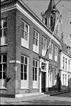 Hoekpand Struisvogelstraat. Pand ter breedte van vijf vensterassen en vier vakken diep