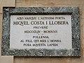 Pollenca, lápida casa natal Miquel Costa I LLobera.jpg