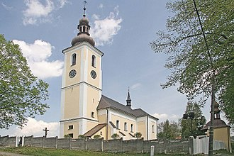 Svitavy District - Saint George's church, Pomezí, Svitavy District