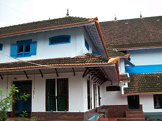 Ponnani - The Ponnani Mosque, a view from the north
