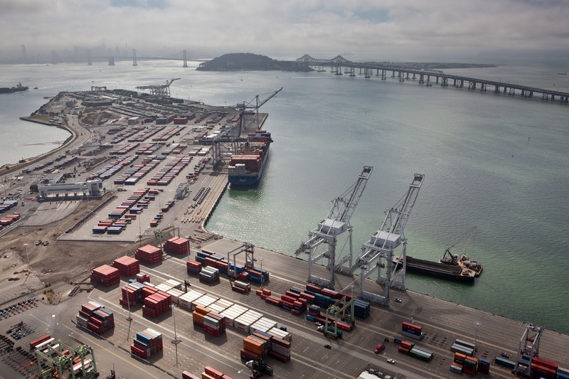 File:Port Of Oakland California.tif