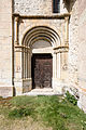 Portail sud de l'église Saint-Pierre-et-Saint-Paul, Saint-Paul-sur-Ubaye, France.jpg