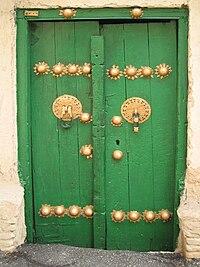 An old door, Isfahan, Iran