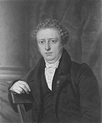 Portret van Alexander Karel Willem Suerman (1809-1840)