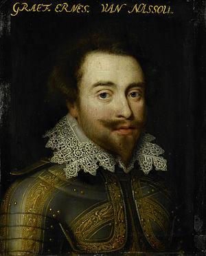 Portret van Johan Ernst I (1582-1617), graaf van Nassau-Siegen Rijksmuseum SK-A-531