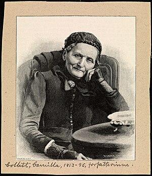 Camilla Collett - Photograph of Camilla Collett (1893)