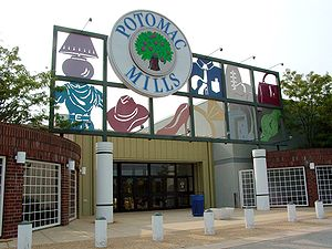 Prince William County, Virginia - Potomac Mills in August 2005.