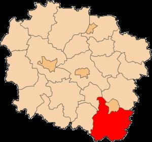 Włocławek County - Image: Powiat włocławski