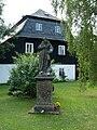 Prácheň (Kamenický Šenov) - socha u č.p. 125.jpg
